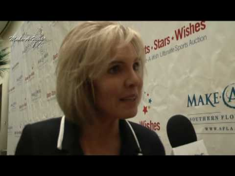 Make-A-Wish Ultimate Sports Auction CBS Sports Broadcaster Lesley Visser