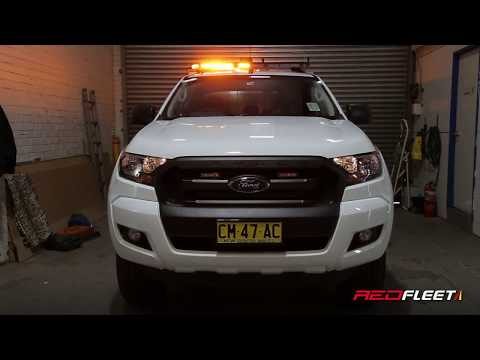 NSW Government Sydney Trains Ford Ranger Incident Response Vehicle