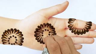 Stylish Simple Mehndi design for hands | Easy Mehendi design front hand | New Mehndi design