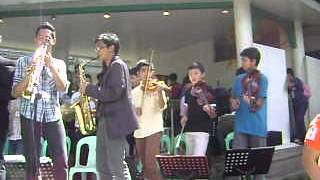 HOLYCROSS BAND & LASALLE GREENHILLS BAND ORCHESTRA  (Freshmen and Sophomore )