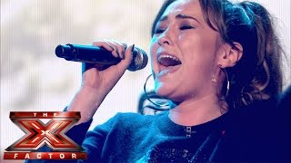 Lola Saunders sings (You Make Me Feel Like) A Natural Woman |Live Results Wk 4| The X Factor UK 2014