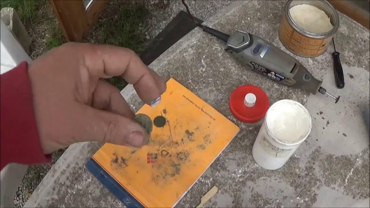 Tutoriel Nettoyage Monnaies Cuivre Youtube