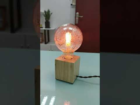 G95 LED Flame Effect Bulb