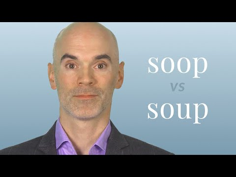Soop vs. Soup - Merriam-Webster Ask the Editor - YouTube