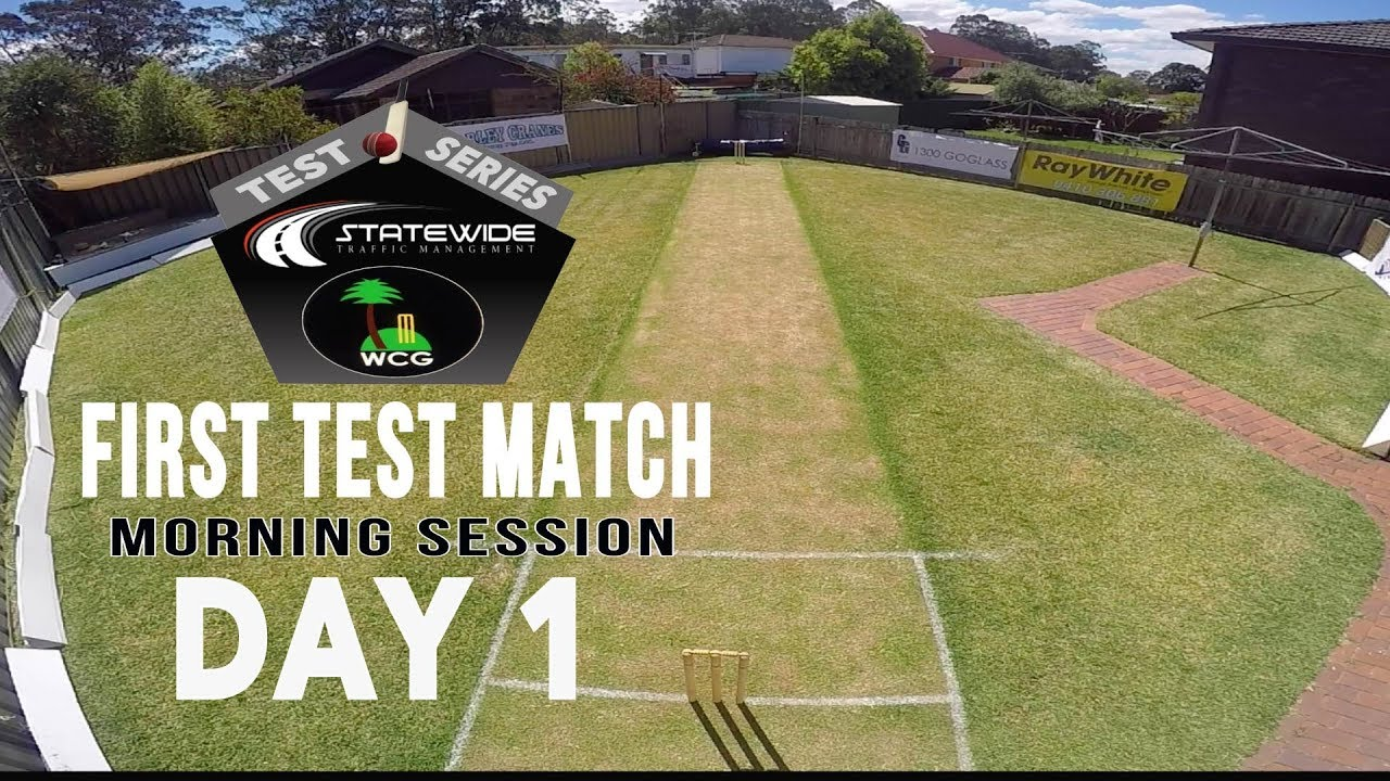 Bxi V Rxi First Test Day One Morning Session Youtube