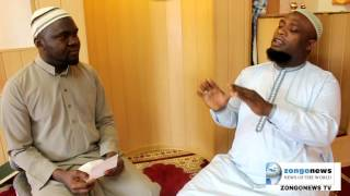 ZongoNews TV Bayaani with Sheikh Mohammed Sani Tunko Hamburg - Awure part1