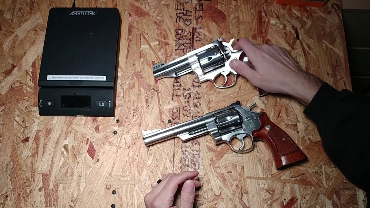 S&W Model 629 vs Ruger Redhawk 44 Magnum! Best 44 Magnum Revolver
