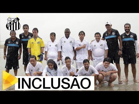 Santos FC celebra o Dia Internacional da Síndrome de Down | #MUITOALÉMDOFUTEBOL