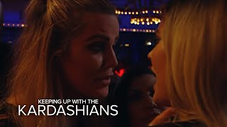 KUWTK |  Khloe Kardashian Pissed at Kylie Jenner for Ditching Them | E!