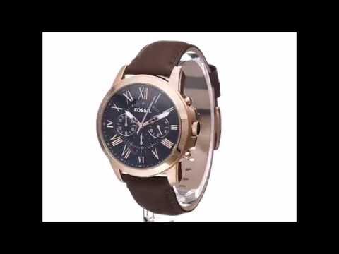 90a9cd1a0 Orologio Fossil FS5068 - YouTube