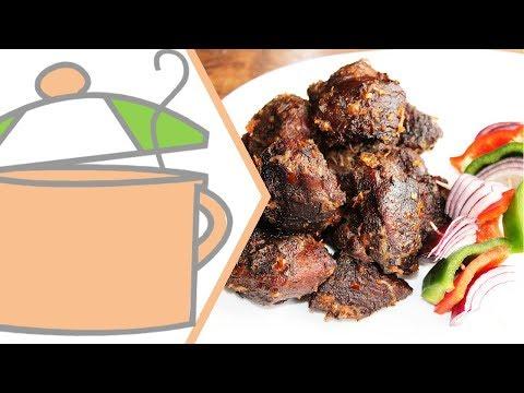 Nigerian Small Chops 3: Nigerian Asun (Peppered Goat Meat) | All Nigerian Recipes