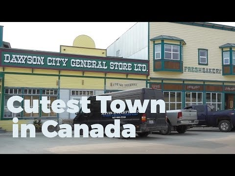 Dawson City, Yukon - Travel Vlog Day #15