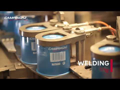 Campingaz® - Gas Cartridges Production - YouTube
