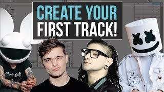 FIRST STEP TO CREATING AN EDM TRACK! - BEGINNER ABLETON LESSONS.COM