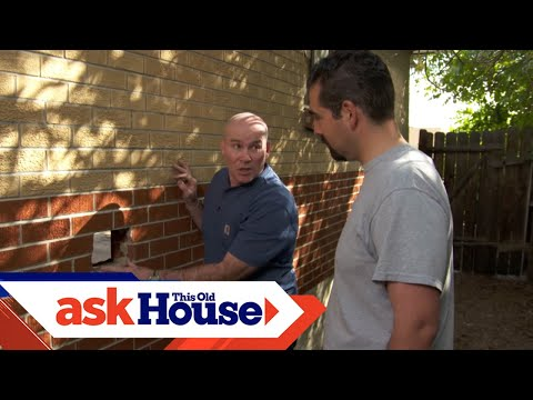 How To Patch A Hole In A Brick Wall | Ask This Old House