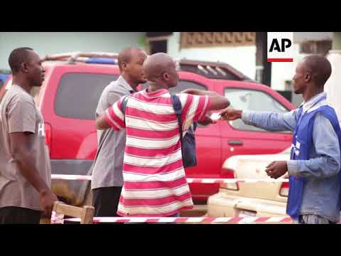 Liberia votes as soccer star, Vice President hope to succeed Sirleaf