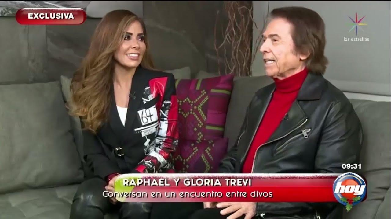 """Raphael y Gloria Trevi. Entrevista en el programa """"Hoy"""". 04.12.2019 -  YouTube"""