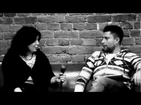 Интервью Артема Дмитриева о дикторской профессии.
