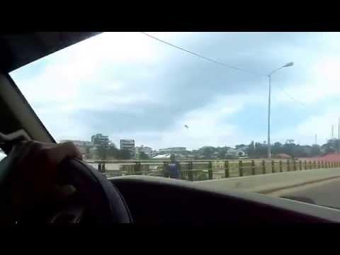 Driving downtown Monrovia- Liberia