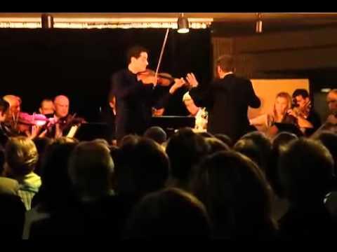 Mozart Violin Concerto No. 5 - Arnaud Sussmann, violin - 2nd mvt