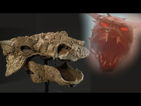 Anquilosaurio se llamará Zuul, como guiño Ghostbuster