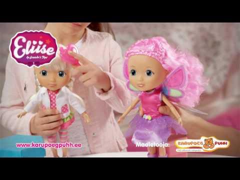 6c714e28ecb Eestikeelne nukk Eliise - YouTube