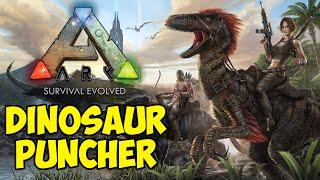 DINOSAUR PUNCHER - Duo ARK: Survival Evolved #1