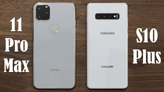 Galaxy S10 Plus vs iPhone 11 Pro Max - Which one is BETTER?