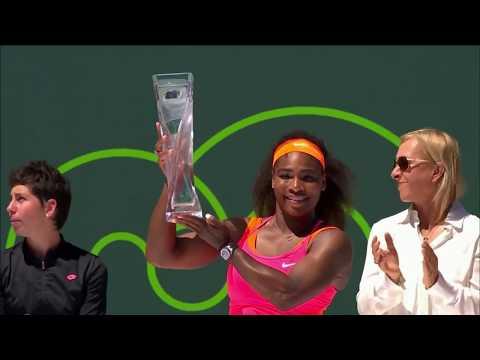 Tennis Channel Live: Serena Williams Powers Through 2019 Miami Opener