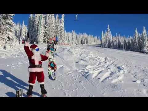 Santa Visits Hudson Bay Mountain 2016