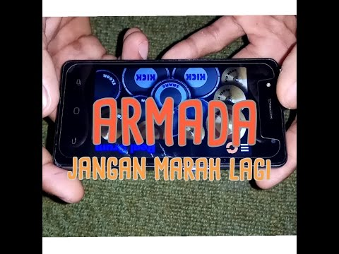 Armada - Jangan Marah Lagi ( Real drum cover )