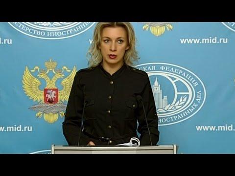 LIVE: Russian FM spokesperson Zakharova holds weekly press briefing