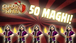 CLASH OF CLANS: SUPER MAGHI! | AragonJX