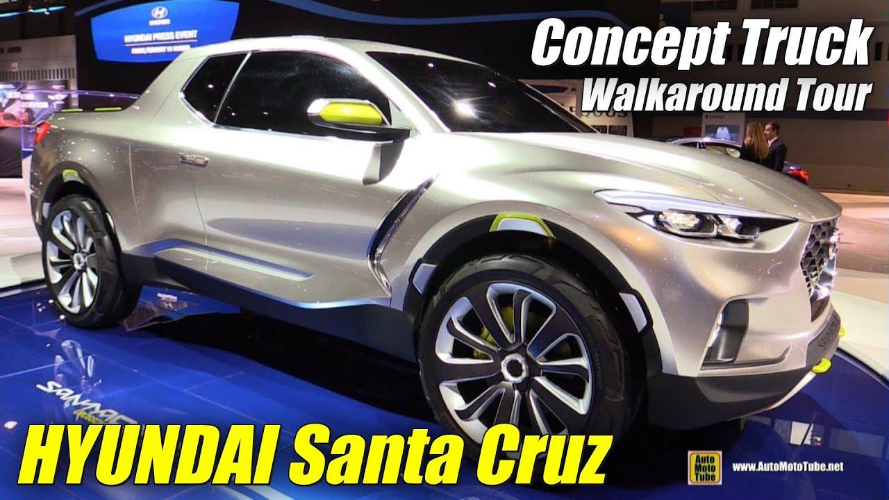 Hyundai Santa Cruz CrossOver Truck Concept - Exterior ...