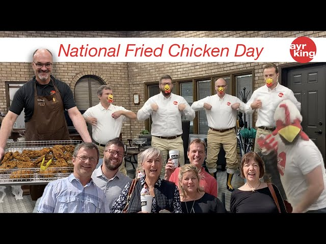 NATIONAL FRIED CHICKEN DAY - JULY 6TH 2020