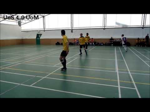 BUCS Futsal 2013/14: University of Sheffield 7-3 University of Manchester