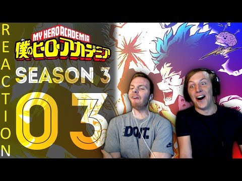 SOS Bros React - My Hero Academia Season 3 Episode 3 - Revelry in the Dark!!
