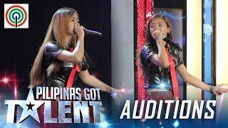 Pilipinas Got Talent Season 5 Auditions: Queen Beats - Female Beatbox Duo