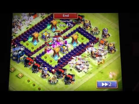Castle Clash Base Town Hall 16