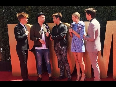 Chloe Lukasiak Interviews Her Ex and Forever In Your Mind | Radio Disney Music Awards