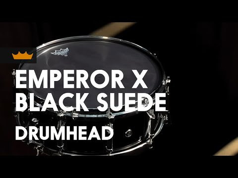 black x snare drumhead product demo youtube. Black Bedroom Furniture Sets. Home Design Ideas