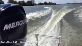 Mercury Four stroke Efi 60 hp, HD Spitfire propeller test