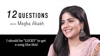 Megha Akash answers 12 Questions | U1 Records | Thappu Pannitten