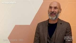 CERSAIE 2019 | DECORATORI BASSANESI - Paolo Serraiotto presenta Rocket, Shades e Luci di Venezia