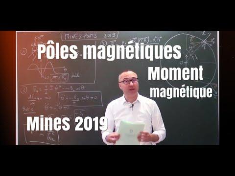 Corrigé Mines Physique 1 2019 MP/PSI/PC (1/3) : Pôles Géographiques Et Magnétiques
