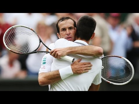 Novak Djokovic VS Radek Stepanek Highlight (Wimbledon) 2014