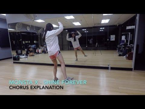 [Eclipse] MONSTA X (몬스타엑스) - Shine Forever Dance Tutorial | Chorus