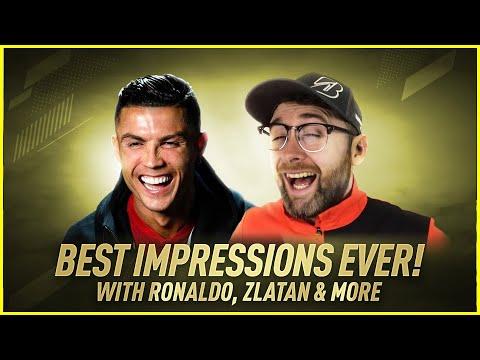 1 Guy, 20 Impressions! Cristiano, Zlatan, Klopp, Pep, Mourinho & More