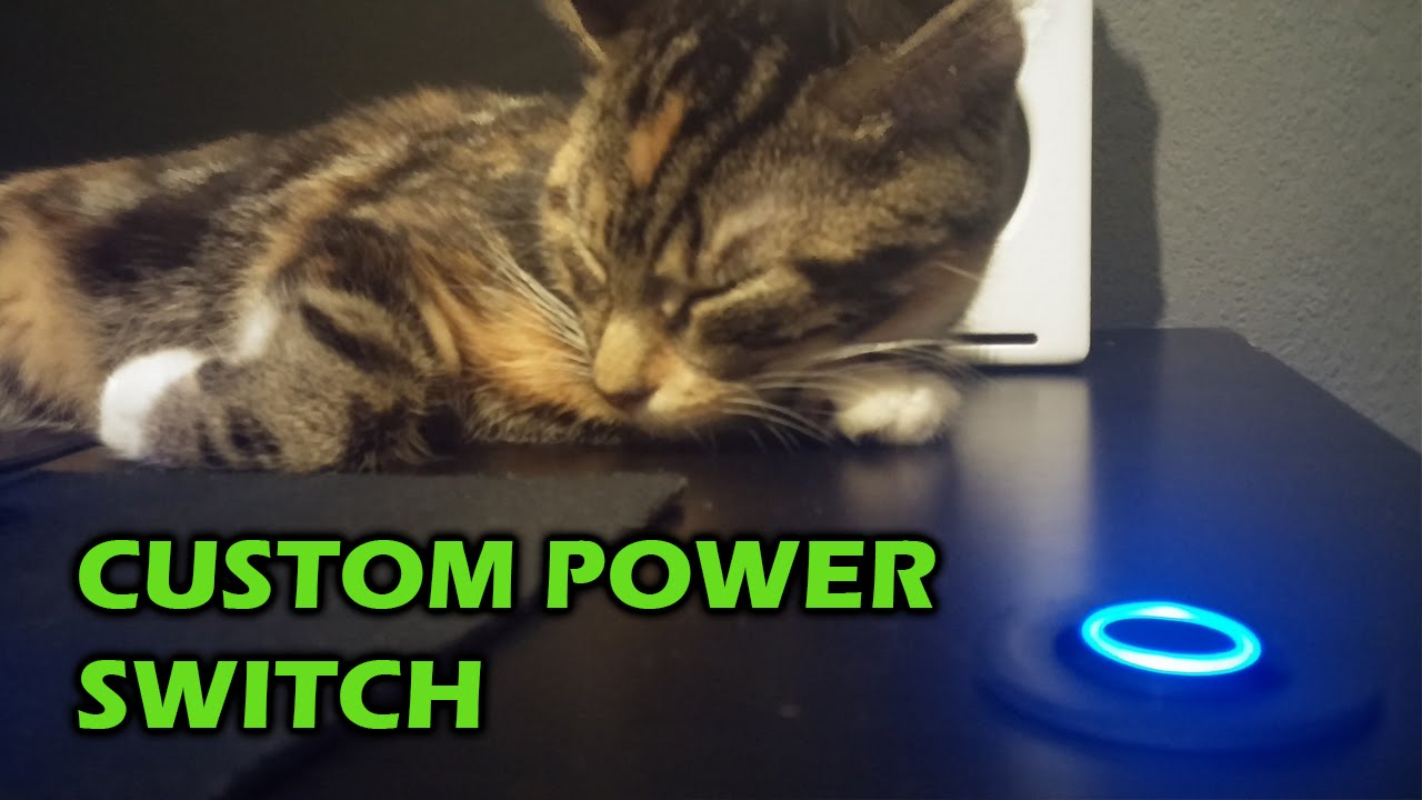 How To Install A Power Button In Your Desk