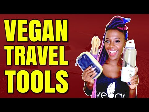 THE TOP 5 GADGETS FOR TRAVELERS / VEGAN TRAVEL TOOLS